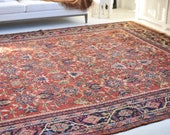 10.8 x 14.1 Incredible All-Over Antique Rug Kavon