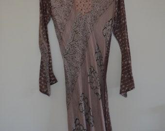 Old Rose Dress Etsy