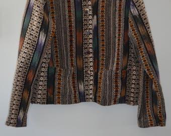 Get 15% discount with coupon code short NEW15 coat tribal/navajo 80' cotton Medium