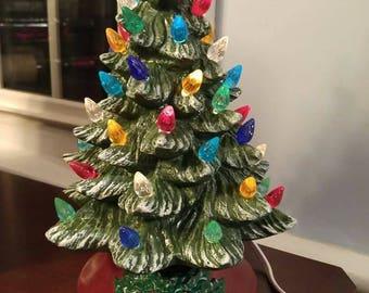 """Vintage style Christmas tree, 9.5"""""""