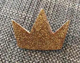"""Brooch """"Be a Queen"""""""