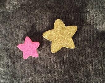"""Brooch """"Star Duo"""""""