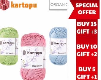 Kartopu Amigurumi Estambre K1620 Azul 50gr 130 M - $ 41.00 en ... | 270x340