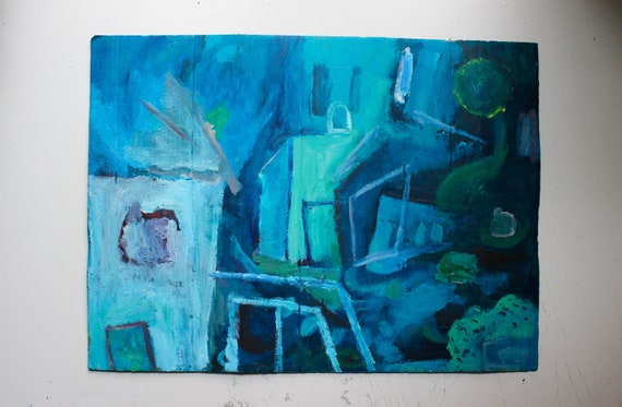Abstract House Artwork
