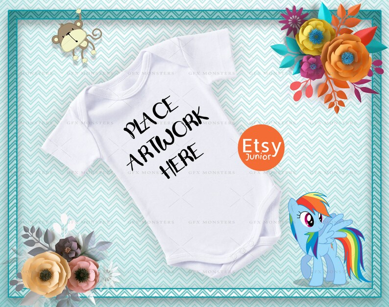 115b4f73aeb9 PNG JPG Baby Vest Mockup Bodysuit Mock-up Onesie Mockup