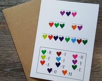 love card i love you card anniversary card for wife just because happy anniversary you are my favorite card for boyfriend cute cards