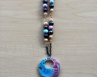 Bubble Gum Pendant Necklace