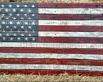 American Flag Wall Art Etsy