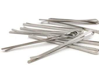 20 Bobby Pin, Pin Blank, Bridal Pin, Wedding Pin, Hair Pin, Hair Clip, DIY Hair Clip, Hair Accessory, Wholesale, 2x55, RN