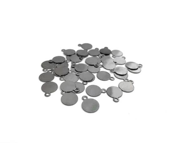 8x26mm Glue Bails Antique Silver DIY Jewelry Making Supplies  Findings.