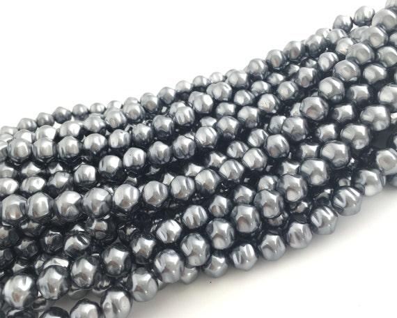 Czech Glass Pearl 20pcs Wedding Pearl Baroque Pearl 10mm Faux Pearl Ivory Bridal Pearl Bohemian Bead DIY Jewelry