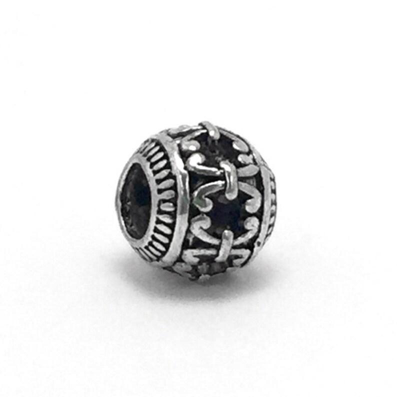 cc1384a2f Retro Tibetan Bead Charm fits Pandora Bracelets   Etsy