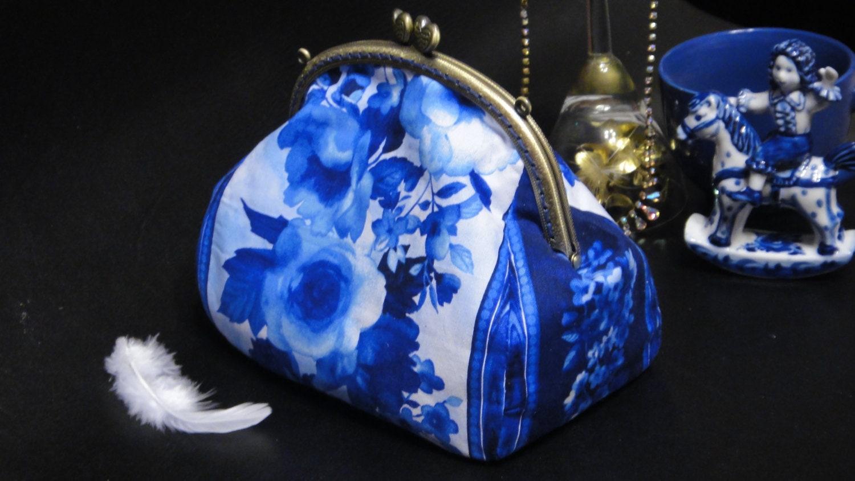 Pochette Sac à main petit sac de soirée soeur bleu Rose cadeau   Etsy 5438a9150fb