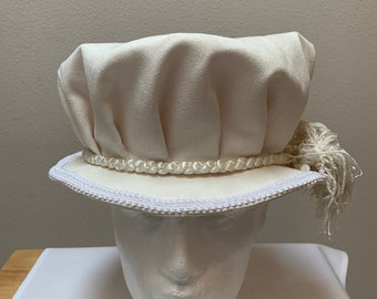 Medieval Women Renaissance Cap Victorian Hat Costume Headpiece Headdress