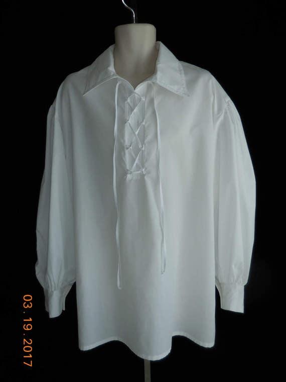 Pretty N/' Peasant Pirate Top White Costume Accessory