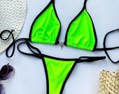 Neon Swimsuit, Swimwear, Sexy Swimsuit, Lingerie Swimsuit, Sexy Bikini, Brazilian Bikini, One Piece Swimsuit, Womens Swimsuit, Beach