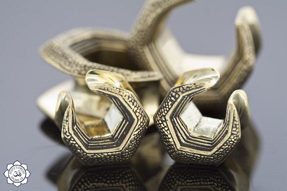 white brass 1-18/'/' 28mm Solid Brass SADDLE SPREADER HOOKS
