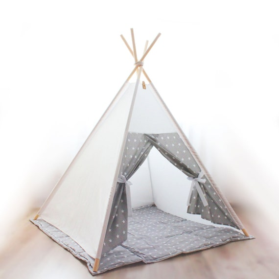 finest selection 18354 630ae Tent for kids, Kids teepee, Teepee for kids, Childrens teepee, Playhouse,  Indoor play tent, Tipi kids, Play teepee, Toddler teepee tent