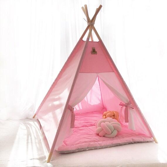 Childrens teepee Kids teepee with poles Tent for kids Toddler teepee Teepee tent Play teepee Tipi enfant Tipi kids Kids tipi