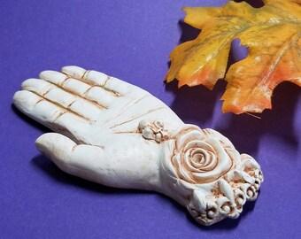 INCENSE HOLDER | Mystic Hand Sculpture | Fall Décor