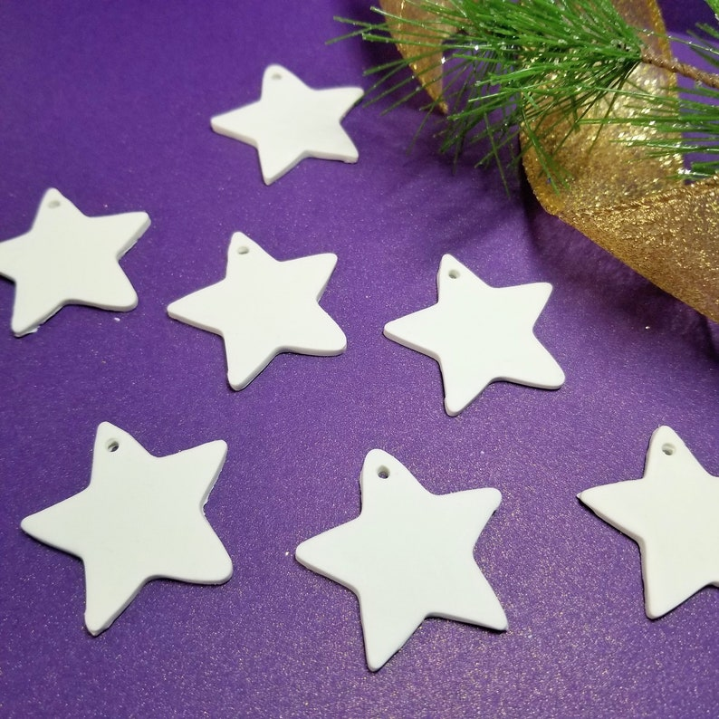 STAR ORNAMENTS  Gift Tags  Decorations  Wedding Favor's image 0