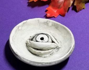INCENSE HOLDER | Evil Eye Trinket Dish | Fall Décor