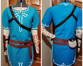 7d2e162c3 Breath of the Wild Link Champion Tunic costume set Custom made