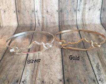 Gold, Silver , Kentucky Bracelet
