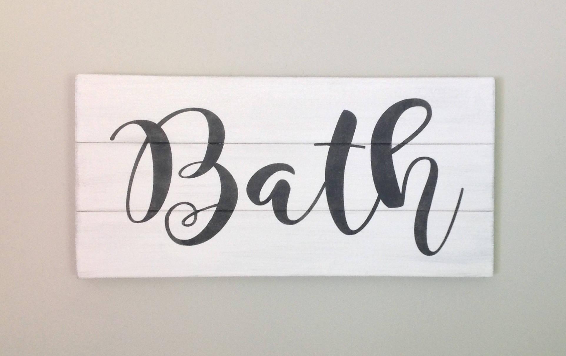 Bathroom sign for home Mens Ilfullxfull127455550680tmjpg Randellludwigclub Bath Sign Bathroom Sign Bathroom Decor Farmhouse Decor Farmhouse