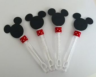 Mickey Mouse Bubble Birthday Class Party Loot Bag Favors