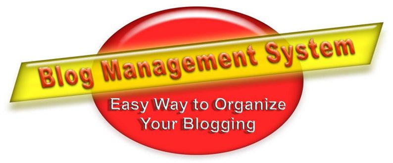 Blog Management System-Digital Download of 26 Easy-to-Use image 0