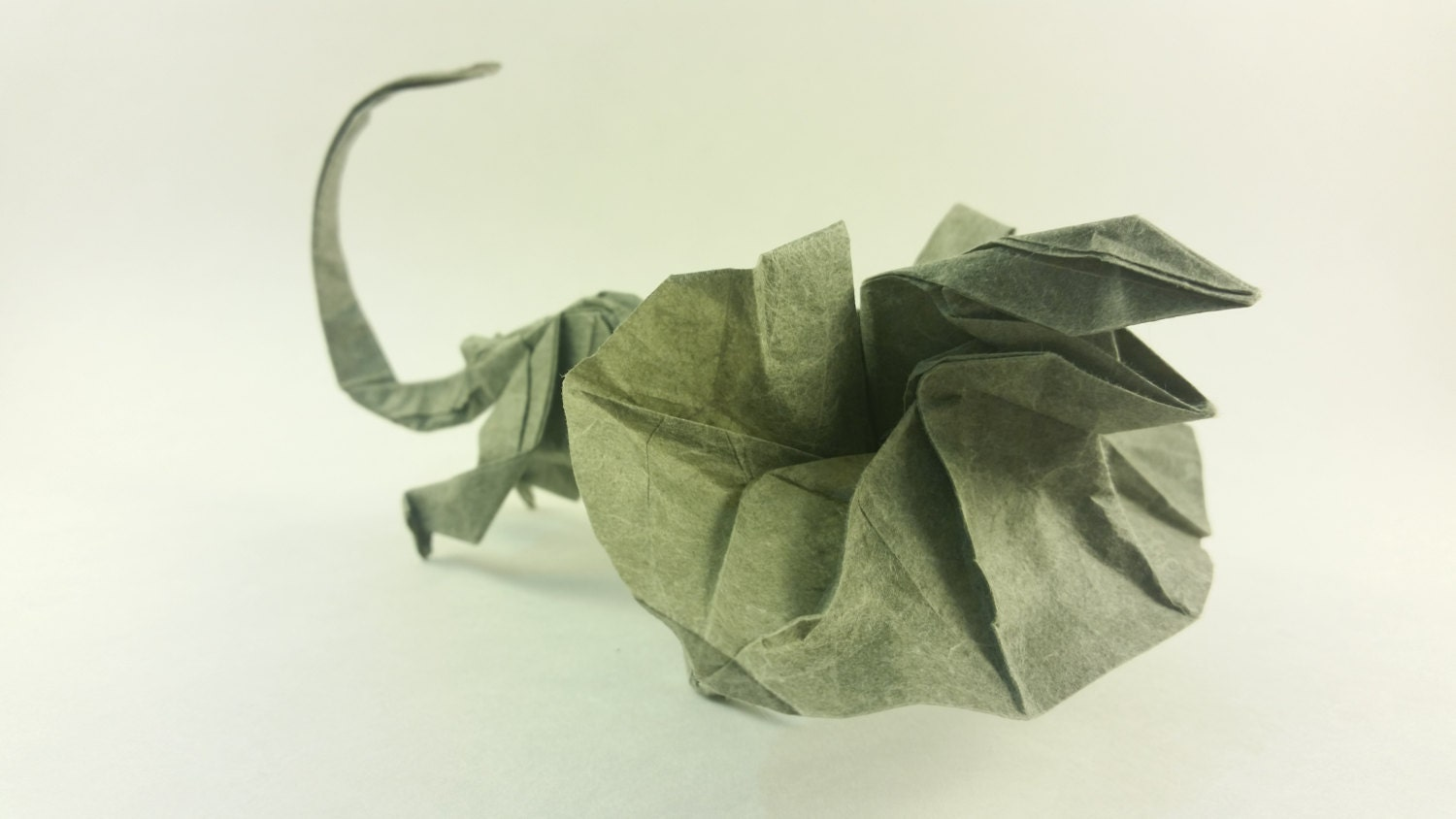 Origami Lizard - Brian Chan | Lizards are one of my favorite… | Flickr | 844x1500