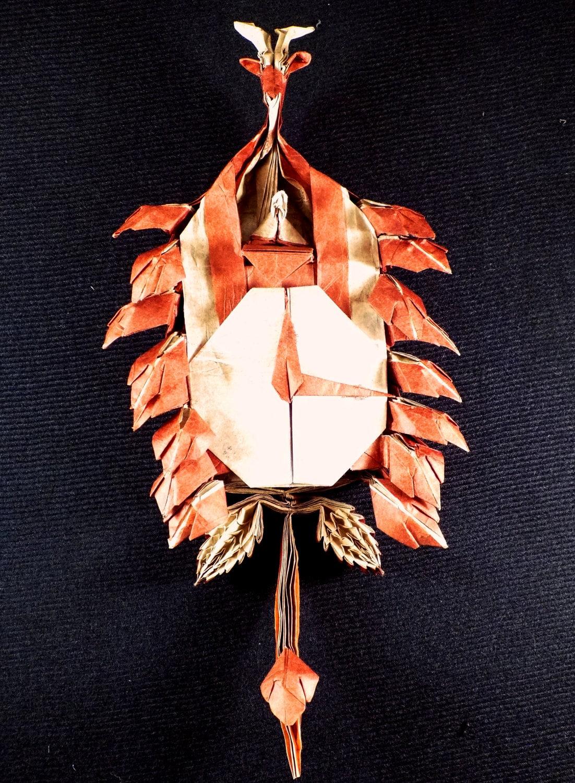 Origami Cuckoo Clock