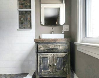Bathroom Vanity Etsy - Distressed bathroom vanities wholesalers