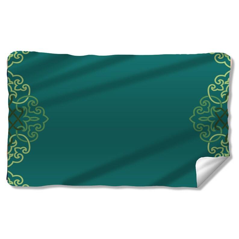 Arabian Half Crest Fleece Blanket