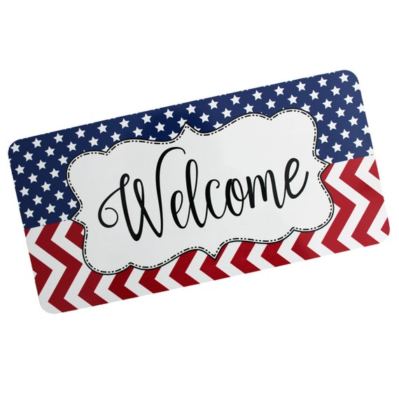 Image result for red white blue welcome