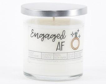 Engaged AF Soy Candle