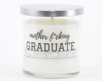 Mother Fcking Graduate Graduation Gift, Funny Grad Gift for Her,College Student Gift,High School Graduation Favors,Best Friend Gift for Him