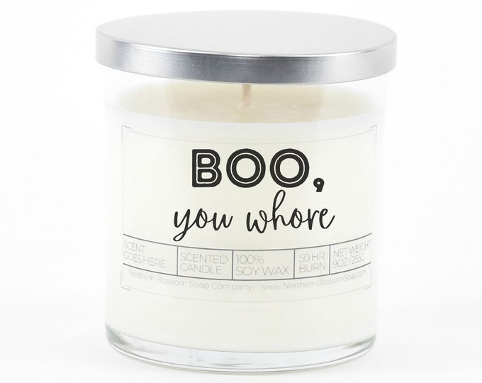 Boo You Whore Funny Goodbye Gift for Best Friend, Goodbye Gift for Coworker, Gift for Bestie, Moving Away Gift, Funny Going Away Gift