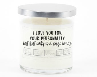 But That Body Is A Huge Bonus, Funny Valentine's Day Gift for Her or Him, Personalized Anniversary Gift for Girlfriend, Couples Gift
