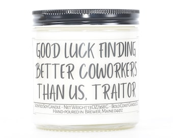 Good Luck Finding Better Coworkers Goodbye Gift, Funny Gift for Coworker Leaving, Custom Gift for Boss, Moving Away Gift, Going Away Gift