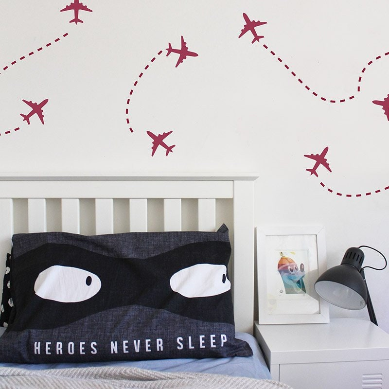 PLANE Wall Stickers, Removable Decal, Made In Australia