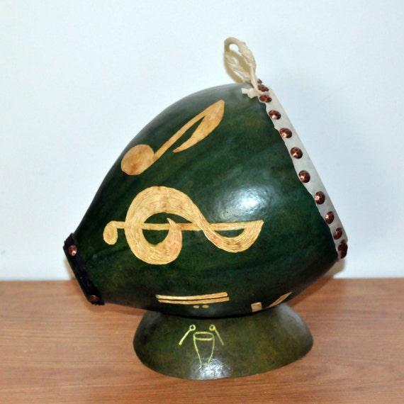 Handcrafted Drum Handmade Drum Carved Music Music Symbols