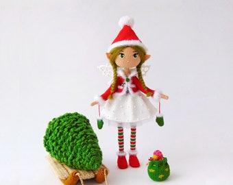 Crochet doll Crochet fairy Collection doll  fairy doll