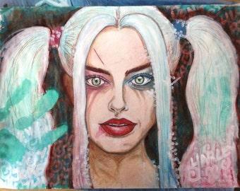Harley Quinn - original drawing