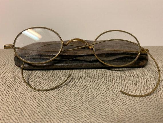 Paire de lunettes antiques de l'ère Victorienne