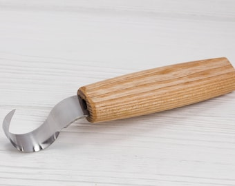 Spoon carving knife spoon knife spoon carving tool wood carving tools hook knife crooked knife spoon carving wood knife BeaverCraft SK1