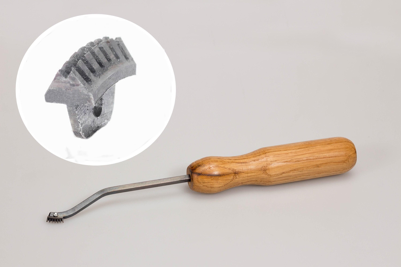 Checkering Tool Cutter with Semicircular Groove 60 Deg 20 LPI Tools BeaverCraft