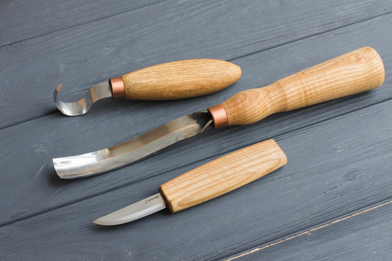 Woodcarving tools for bowl kuksa carving set kit spoon carving tools set  NEW carving chisels gouge whittling knife hook knife BeaverCraft