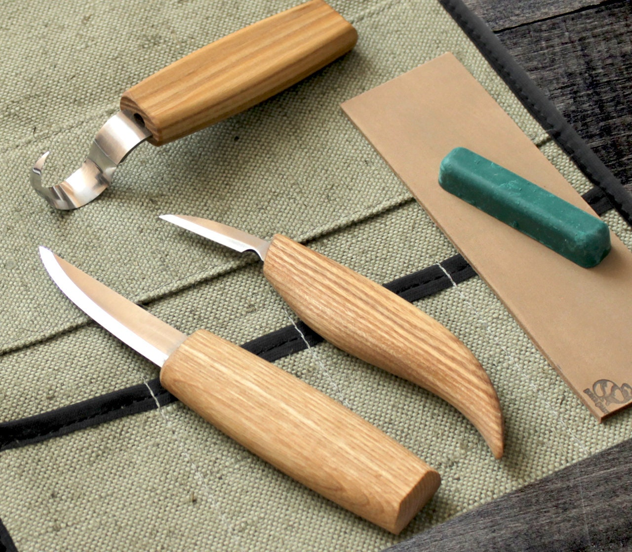 Wood Carving Knife: Wood Carving Knives Set Spoon Knife Spoon Carving Set TOP